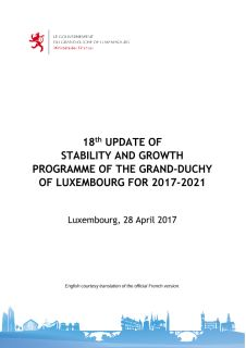 18th Update of Stability and Growth Programme of the Grand-Duchy of Luxembourg for 2017-2021